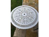 Garden table (metal)