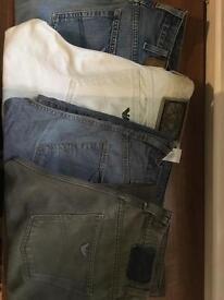 Men's Armani Jeans W30-31 / L30 x 4 Pairs