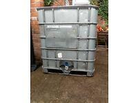 IBC galvanised water Container