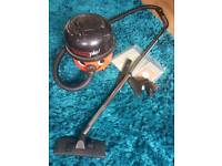 Henry Plus Hoover with accessories