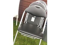 Padded fold up chairs