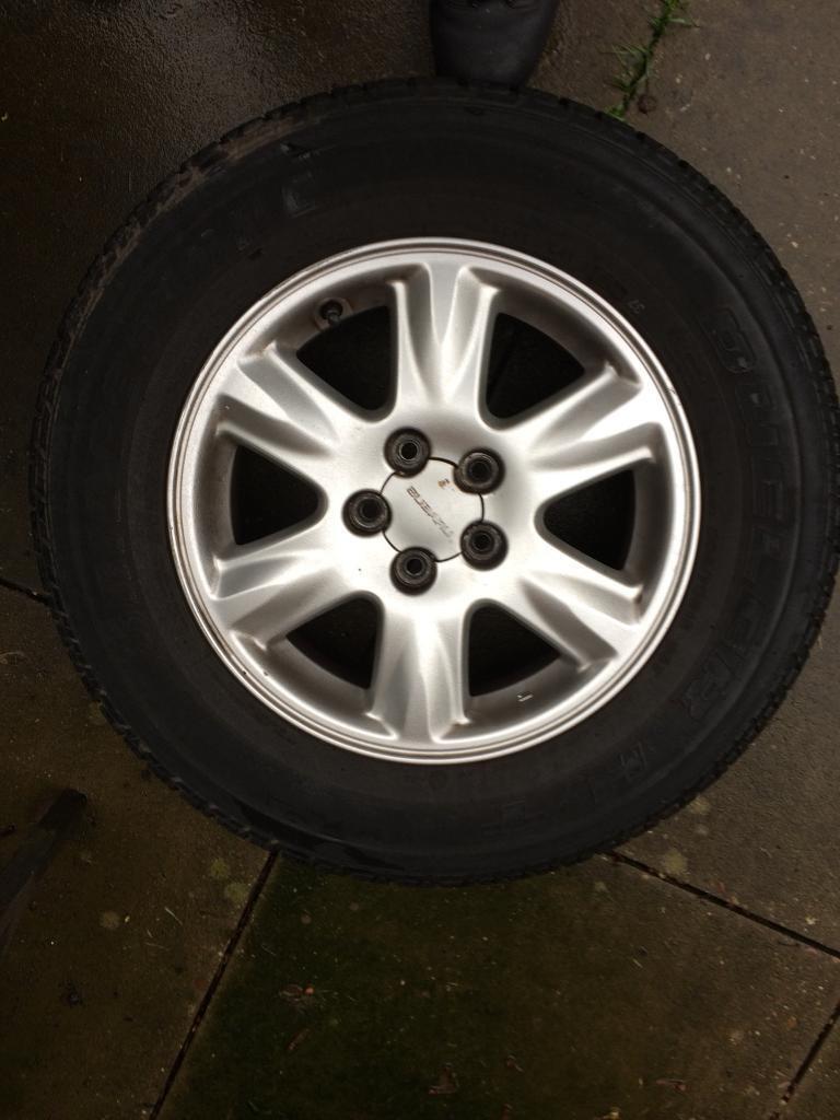 Subaru wheels