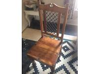 Two dining room chairs offers welcome