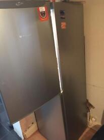 Hotpoint Fridge with Freezer in Grey