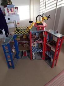 Kid craft Fire Station