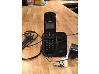 Phillips cordless single handset phone