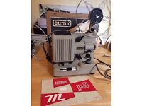 Working mint condition Eumig P8 Automatic 8mm film projector cine movie boxed + accessories NOS
