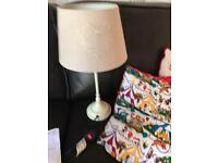 Tall Lamp and table lamp