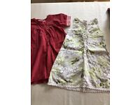 Age 4 gorgeous girls Lego summer dresses x2. Excellent condition.