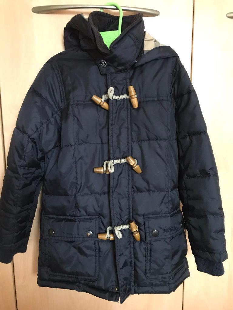 Barbour boys fibre down jacket Age 4/5