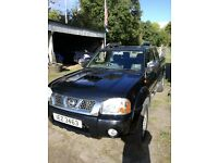 Nissan Navara Outlaw pickup, under 100k, never used commercially. Good condition inside and out