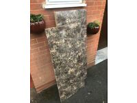 2 High Quality Granite Effect Kitchen Worktops