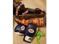 Kickboxing eqipment (USED)