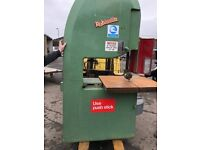 Robinson vertical bandsaw