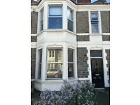 1 bedroom ground floor flat available in Bishopston with a shared garden.