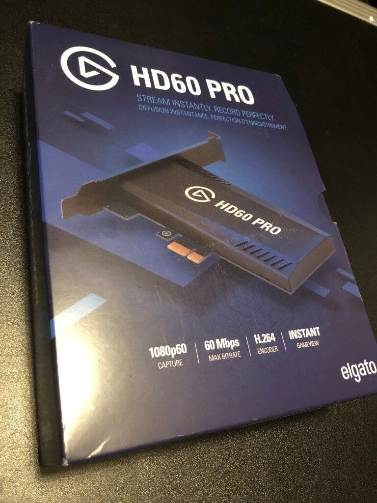 Elgato Game Capture HD60, Boxed, used once  As new condition
