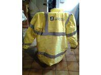 Yello safety jacket