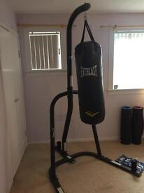 Everlast Boxing Heavy Bag & Stand