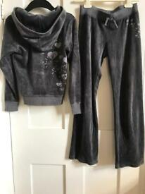 Girls juicy couture tracksuits age 10