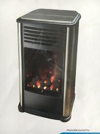 Portable gas fire