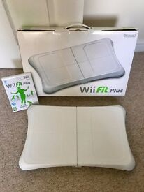 Nintendo Wii Fit Plus (Balance Board and Wii Fit Plus Disk)