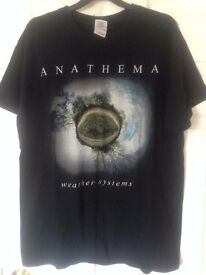 Anathema - Large men's tshirt bundle - Exeter Cathedral and Weather Systems - £10 for two