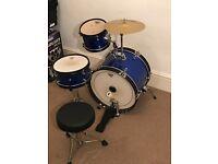Junior 3 Piece Children's Drum Kit