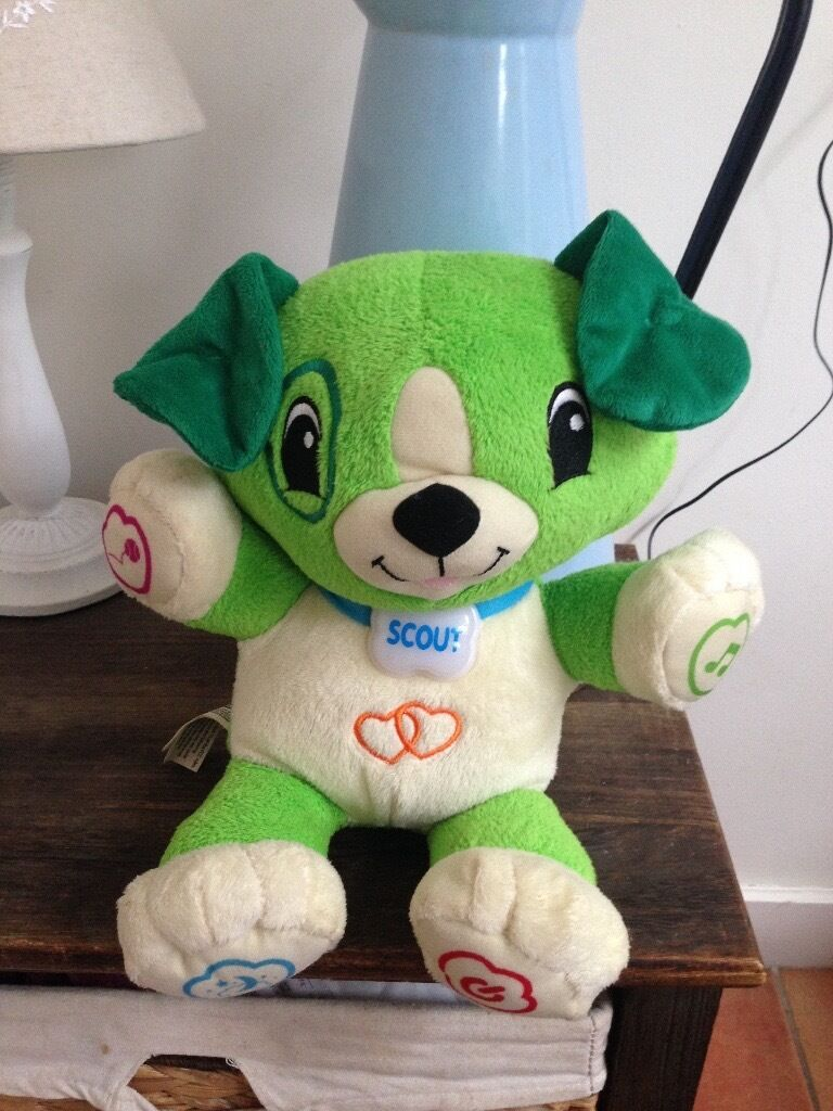 Leapfrog Toy my puppy pal Scout Dog only used once!