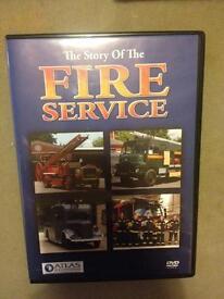 Story of the fire service original dvd