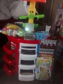 Toy kitchen /supermarket &accessories