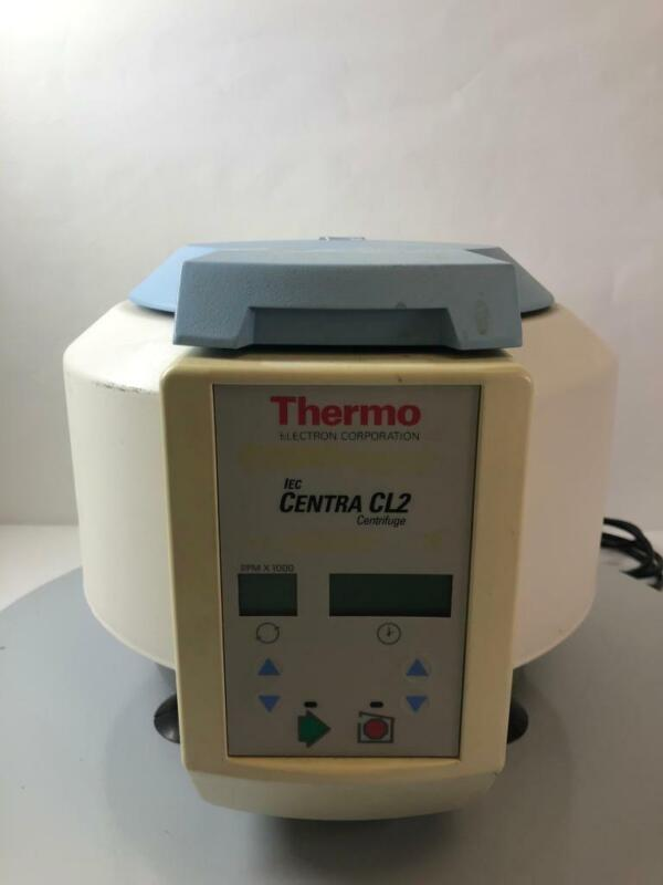 Thermo IEC Centra CL2 Centrifuge with Rotor *TESTED*