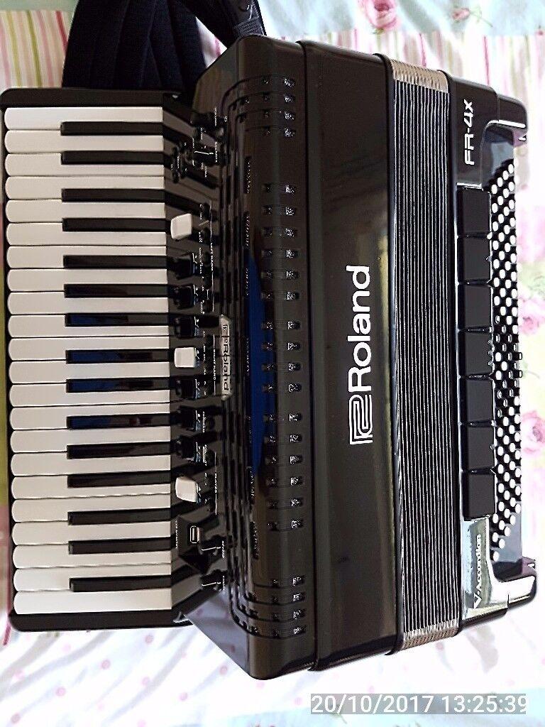 Roland FR4X digital accordion