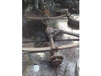 Ford transit 2.4 rwd back axel and differential
