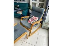 Poang IKEA rocking chair