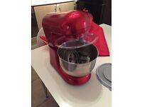 Andrew James red food mixer