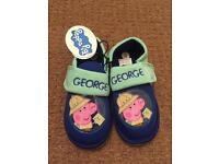 New- Peppa Pig slippers- size 9
