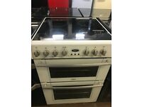 60CM WHITE BELLING ELECTRIC COOKER