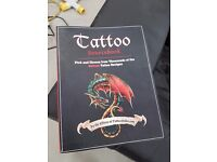 Tattoo design artwork books - two for sale, only £15 for both - can deliver