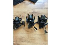 3 Penne affinity 7000 big pit reels mint condition used only for week in France