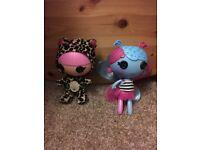 Lalaloopsy bundle & 2 large dolls