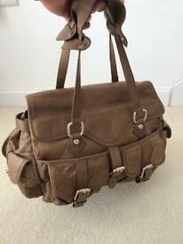 Reiss leather handbag