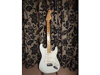 Electric Guitar Fender Strat custom style.