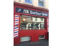 Barber wanted £600 a week