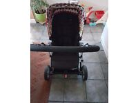 Mamas and papas pixo pram with extras 7 months old