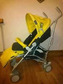 Kiddicare baby weavers yellow buggy