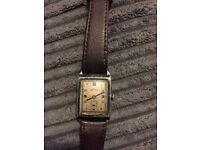 Men's vintage novoris wrist watch