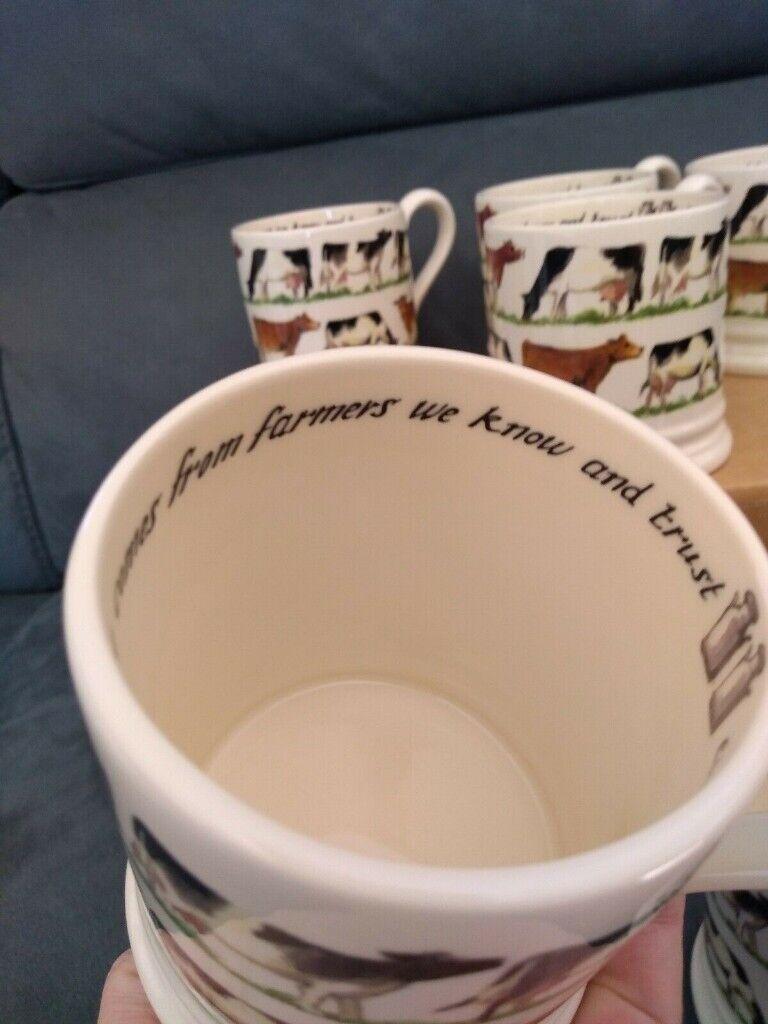 Pottery Emma Bridgewater Cows Mug Unused Displayed Only Waitrose 2013