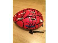 Spider-Man bike helmet - approx age 7-12