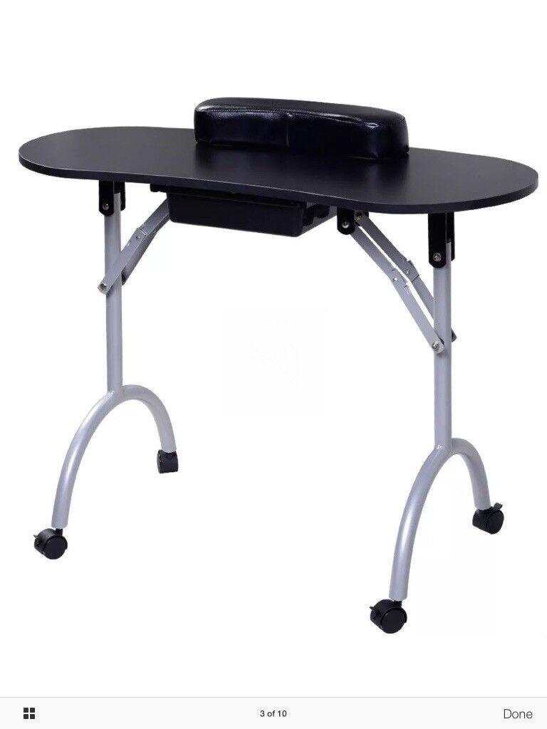 Portable folding manicure/nail art table | in March, Cambridgeshire ...