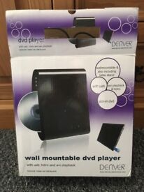 DVD player wall mount or stand